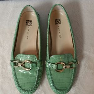 Anne Klein leather loafers. Size 7